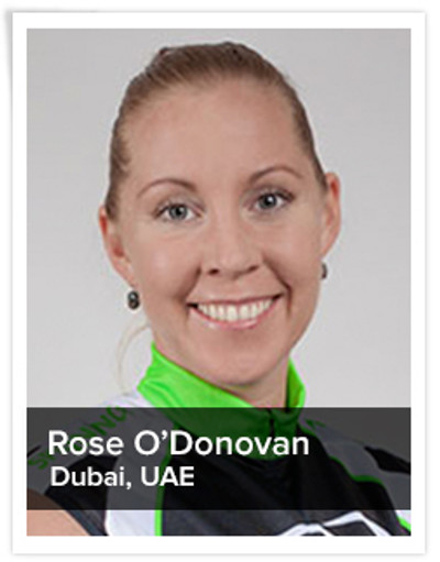 Rose O'Donovan, Spinning® Master Instructor and Power Specialist Master Instructor | Dubai, UAE