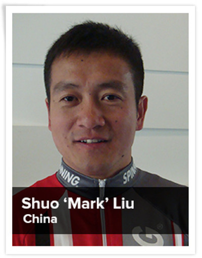 "Shuo ""Mark"" Liu, Spinning® Master Instructor 
