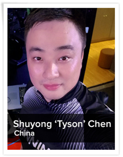 Shuyong 'Tyson' Chen,  Spinning® Master Instructor | China