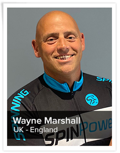 Wayne Marshall, Spinning® Master Instructor | England