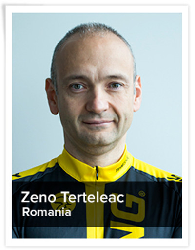 Zeno Terteleac, Spinning® Master Instructor | Romania