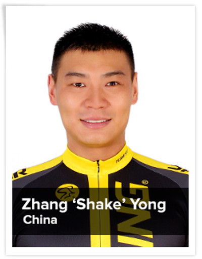 Zhang 'Shake' Yong, Spinning® Master Instructor | China
