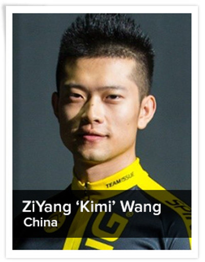 ZiYang 'Kimi' Wang, Spinning® Master Instructor | China
