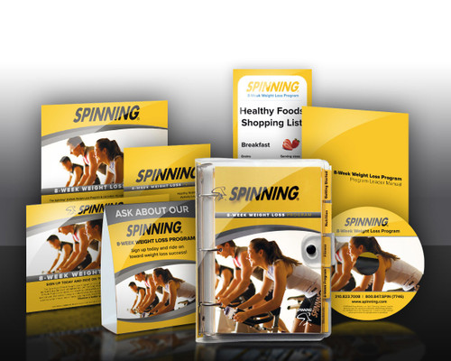 Spinning® 8-Week Weight Loss Kit for 10 Participants