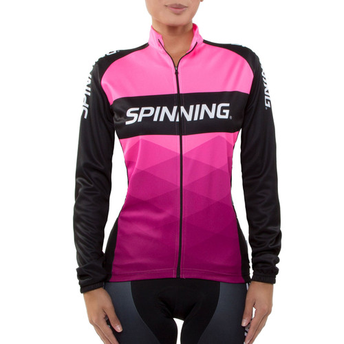 Spinning® Orion Women's Cycling Jacket Pink
