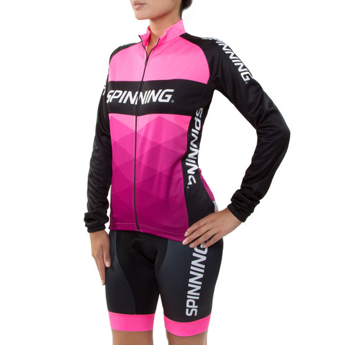 Spinning Orion Women S Cycling Jacket Pink Spinning