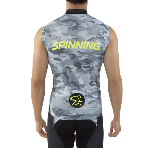 062898d8f Spinning® Hercules Men s Sleeveless Cycling Jersey Yellow - Spinning®