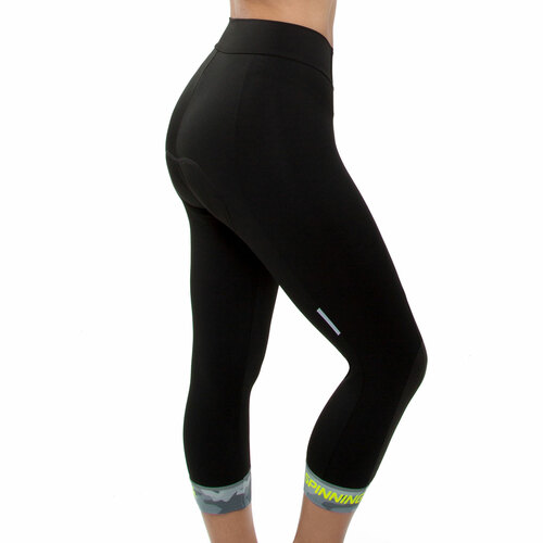 Spinning® Hercules Women's Padded Cycling Knickers Yellow