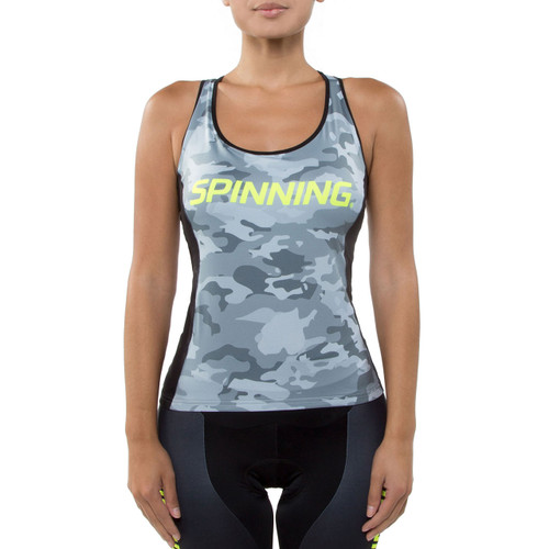 Spinning® Hercules Women's Cycling Donna Top Yellow