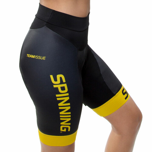 Spinning® Team Women's Cycling Short - Yellow