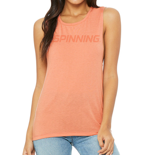 Spinning Muscle Tank Womens