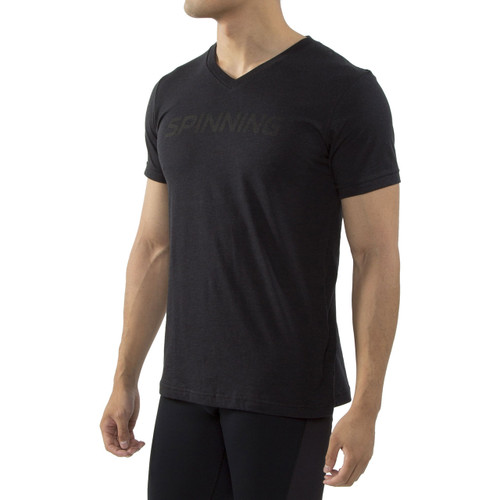 Spinning Short Sleeve Pro V Neck
