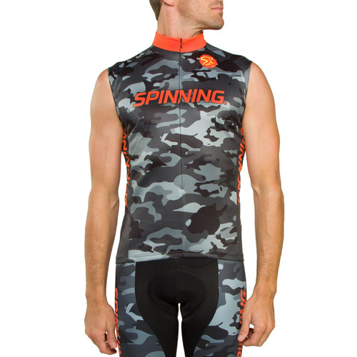 Olympus Sleeveless Jersey Orange