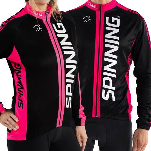 Spinning® Team Unisex Cycling Jacket - Pink
