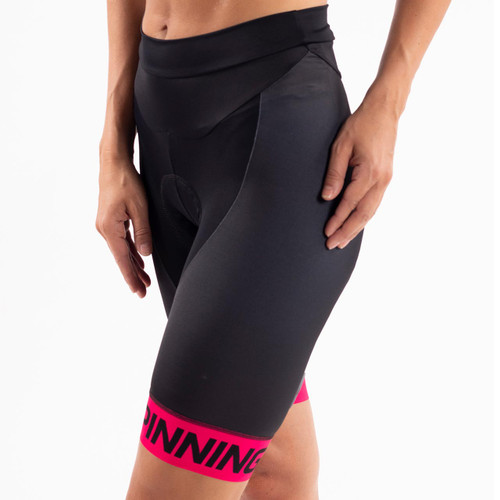 Spinning® Team Women's Padded Short - Pink