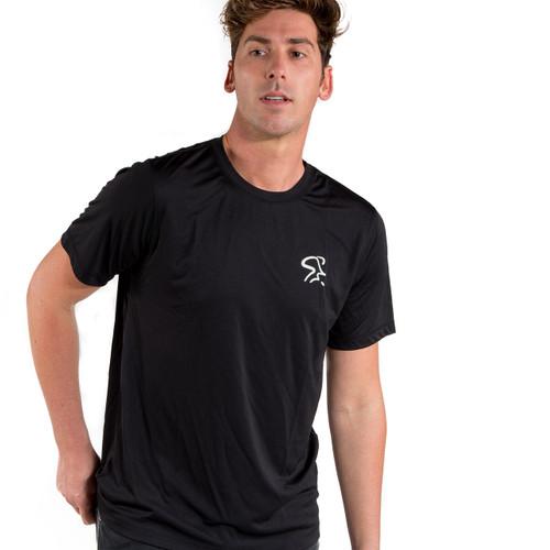 Spinning® Short Sleeve Performance Tee - Black