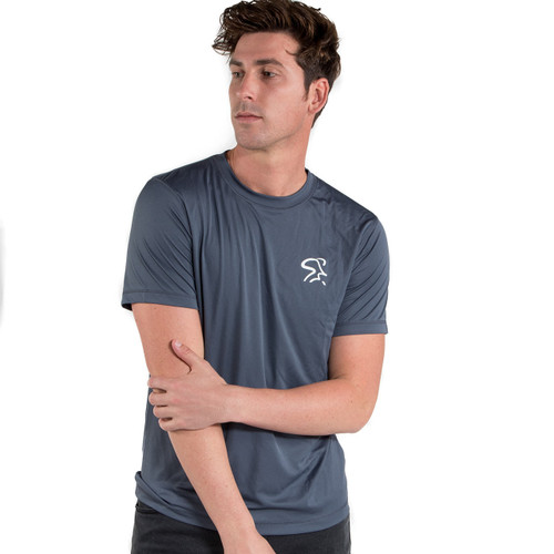 Spinning® Short Sleeve Unisex Performance Tee - Slate