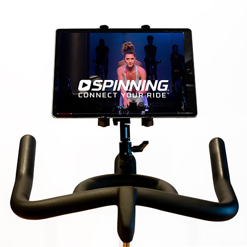 Spinning® Deluxe Media Mount - Compatible w/ Single Water Bottle Holder