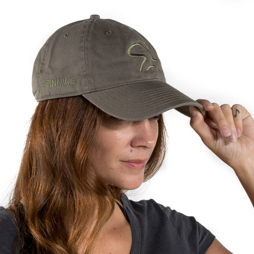 Spinning Dad Cap - Olive