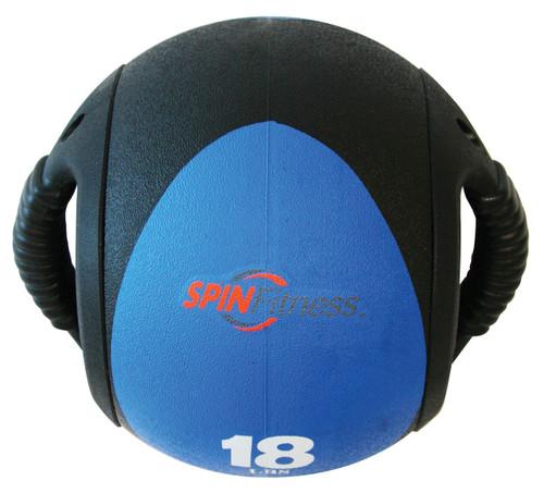 SPIN Fitness® Dual Grip Medicine Ball 18lb