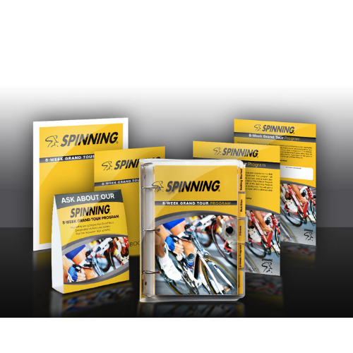 Spinning® 8-Week Grand Tour Kit for 10 Participants