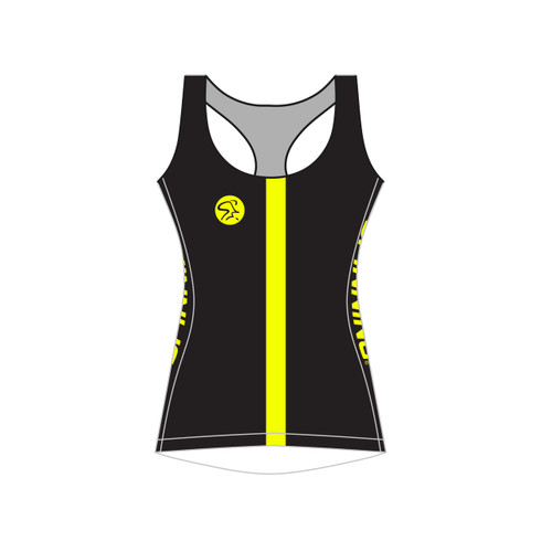 Spinning® Team Women's Sleeveless Cycling Racerback - Yellow