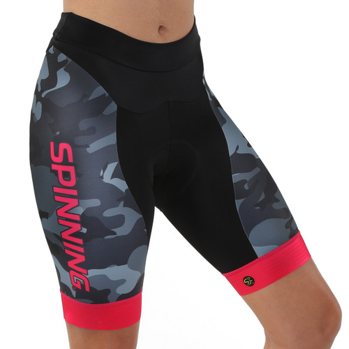 Spinning® Olympus Women's Cycling Short - Red