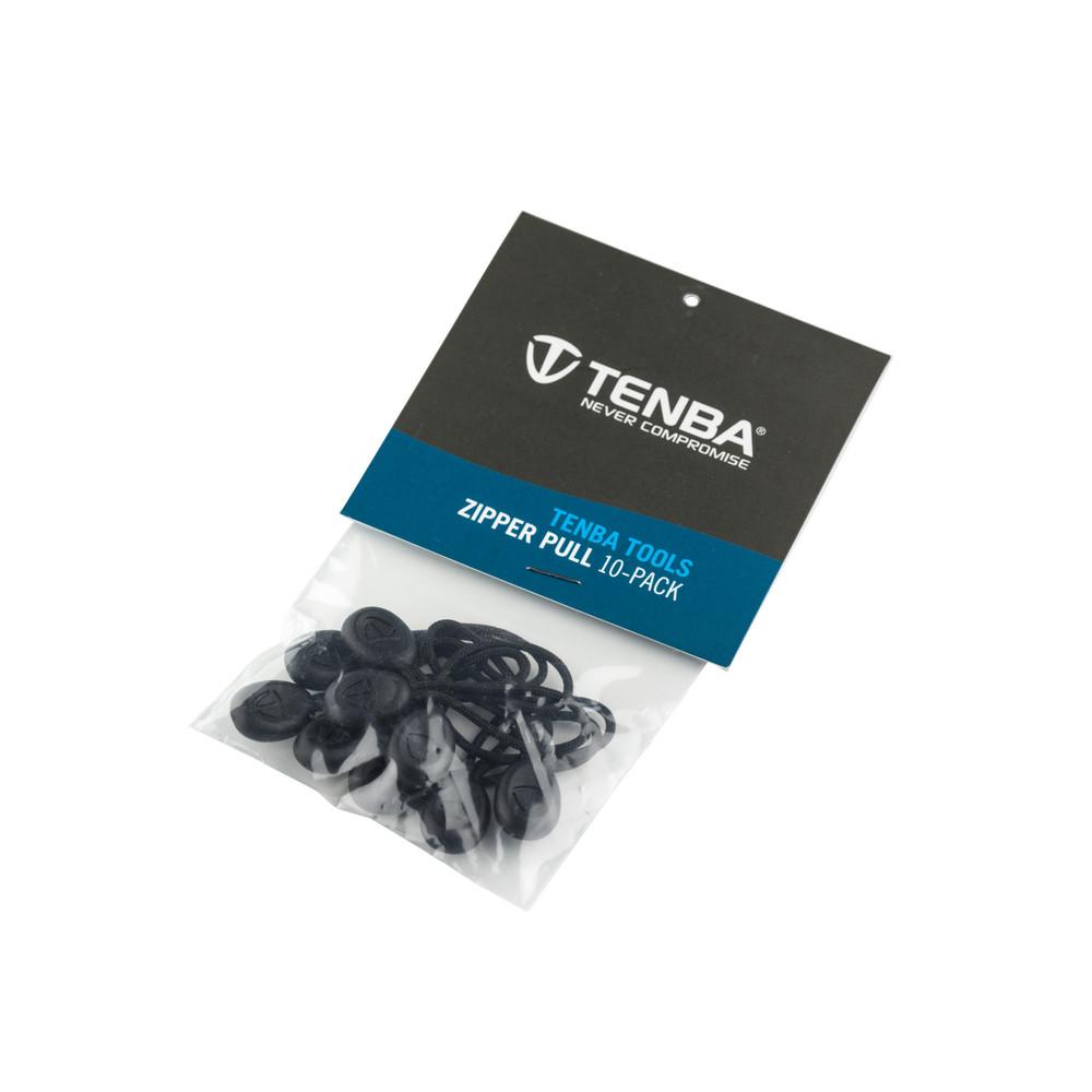 Tools Zipper Pulls - Pack of 10 - Black
