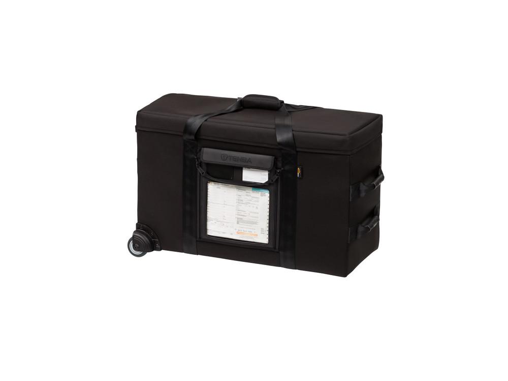 Transport Air Case Topload Medium Lighting Case w/ wheels - Black