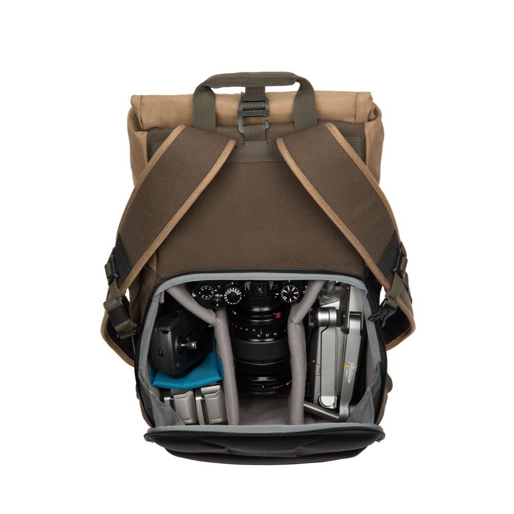 Fulton 14L Backpack - Tan/Olive