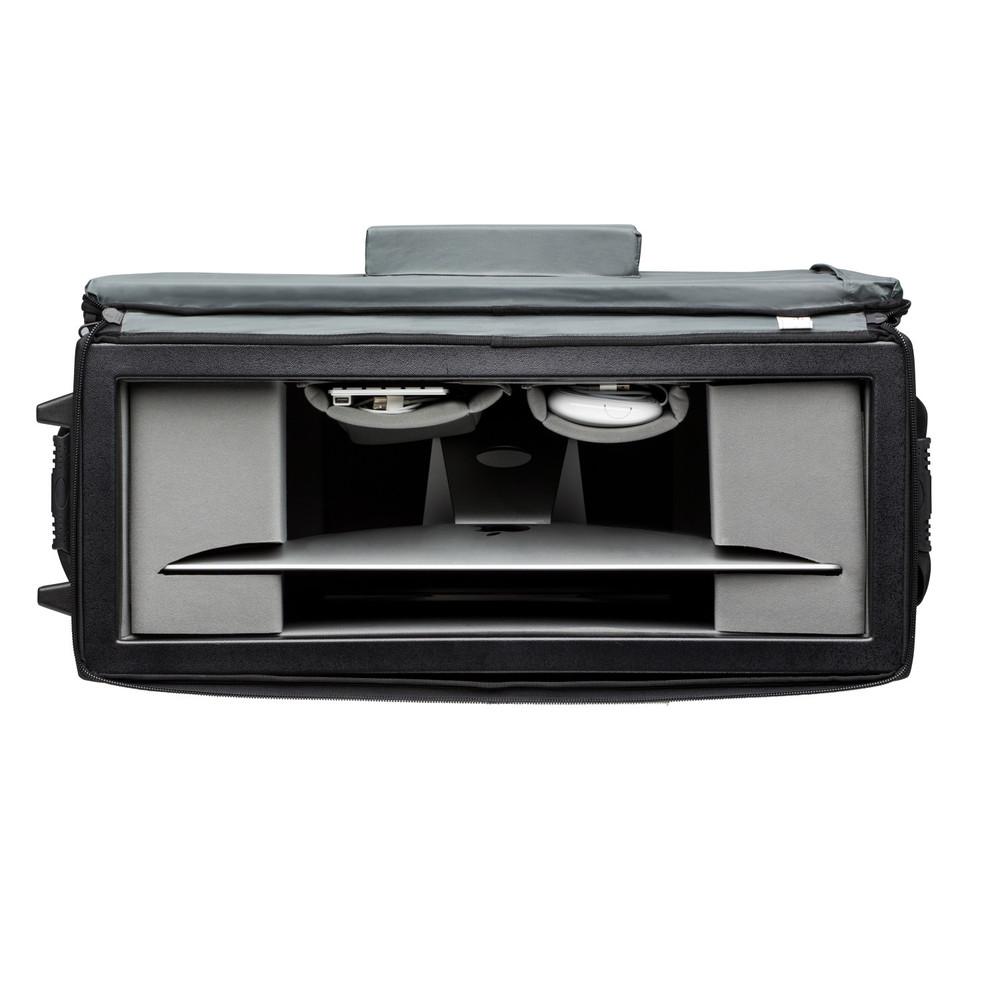Transport Air Case for Apple 27-inch iMac w/ wheels - Black