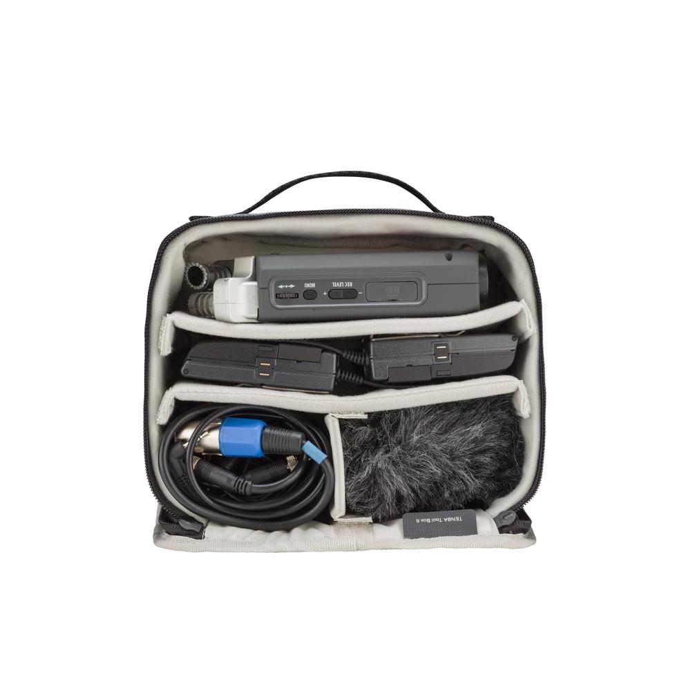 Tools Tool Box 6 - Gray
