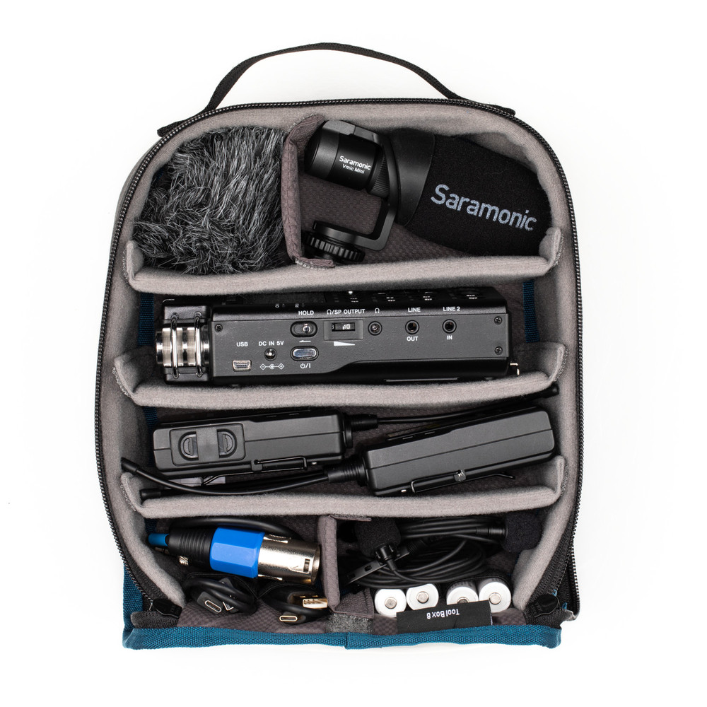 Tools Tool Box 8 - Black