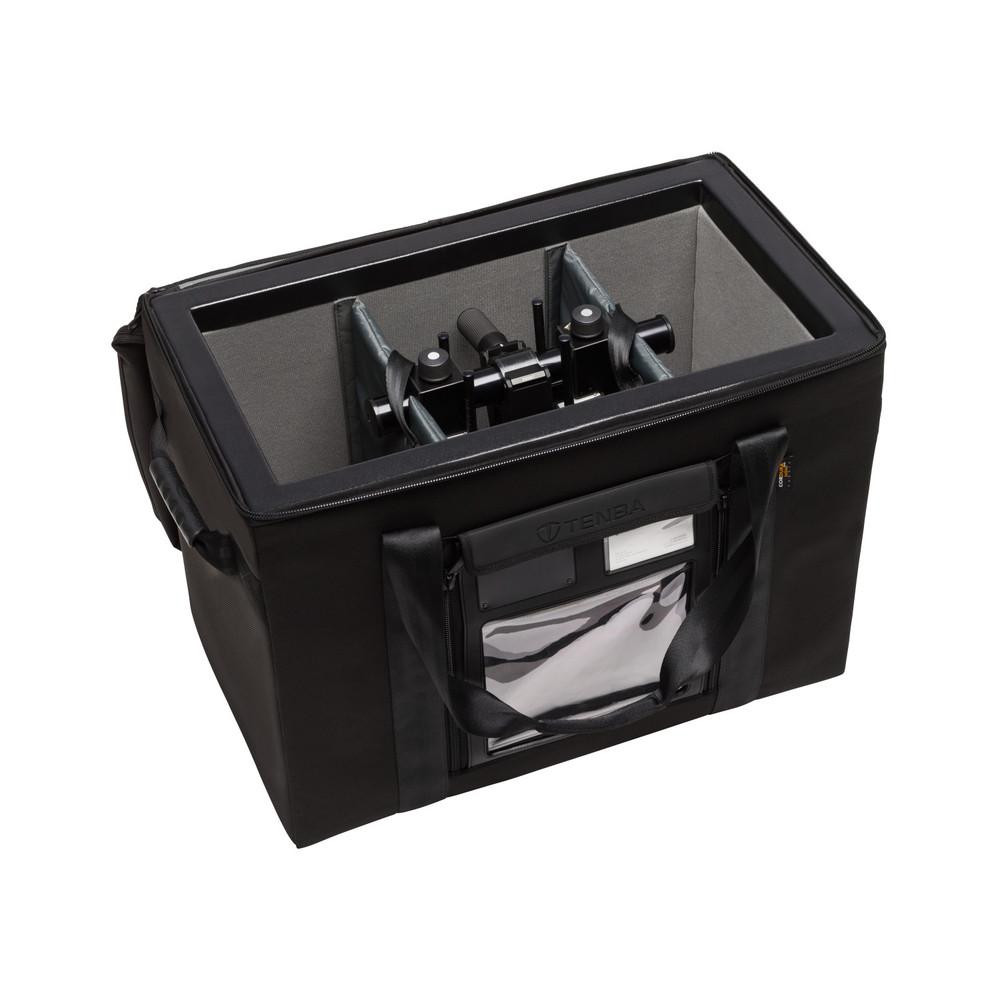 Transport Air Case Topload 4x5 View Camera/Medium Lighting Case - Black