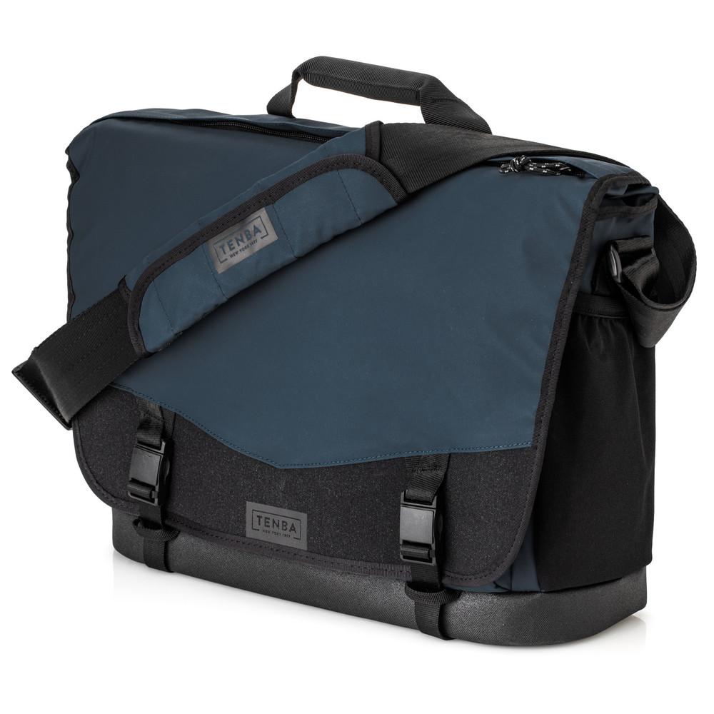 DNA 16 Slim Messenger Bag  Blue