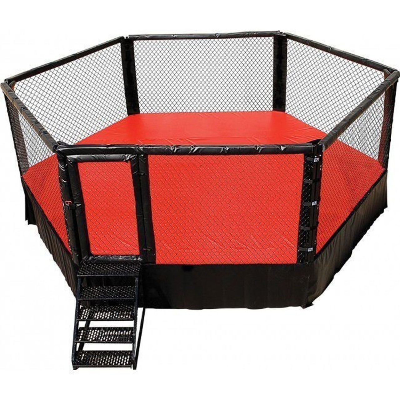 PRO MMA Elevated Hexagon Competition Cage | Made in USA