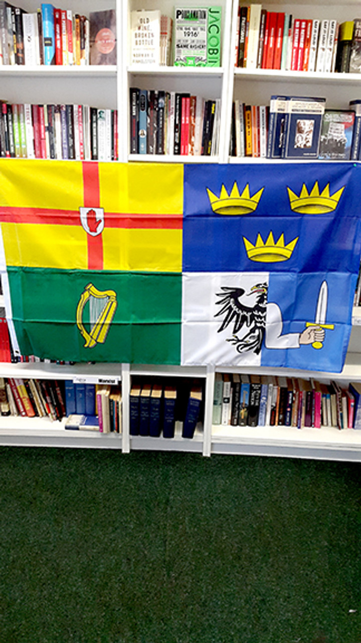 Four Province Flag Ireland 5ft x 3ft
