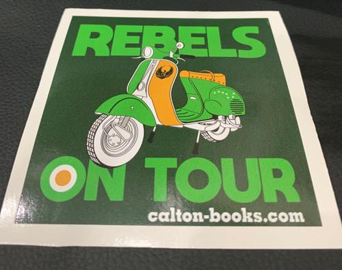 REBELS ON TOUR 20 VINYL STICKERS