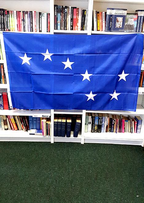 STARRY PLOUGH (BLUE) FLAG