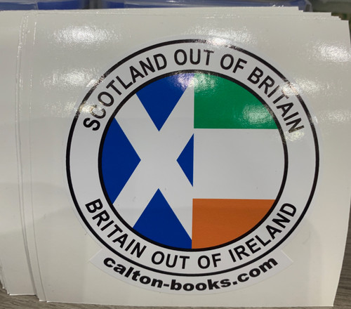 20 x  Scotland out of Britain Britain out of Ireland vinyl stickers