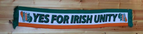 YES FOR IRISH UNITY SCARF
