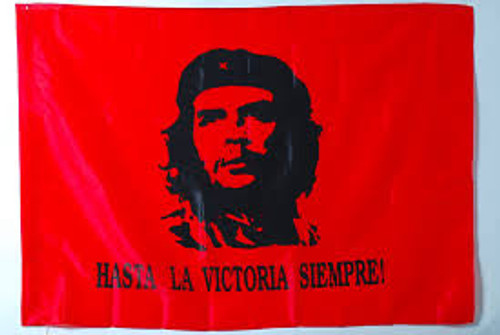 Che Guevara red flag