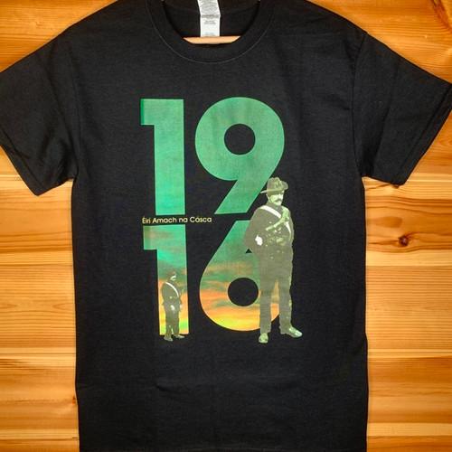 1916 Éirí Amach na Cásca BLACK T-SHIRT
