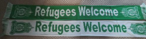 REFUGEES WELCOME SCARVES