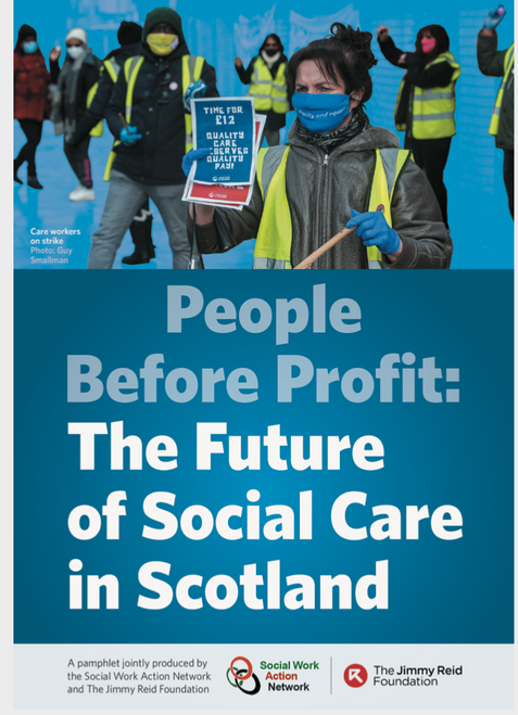 People Before Profit: The Future of Social Care in Scotland