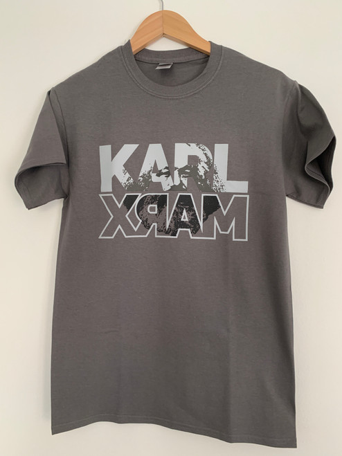 Karl Marx charcoal grey t-shirt