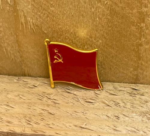 USSR flag enamel badge