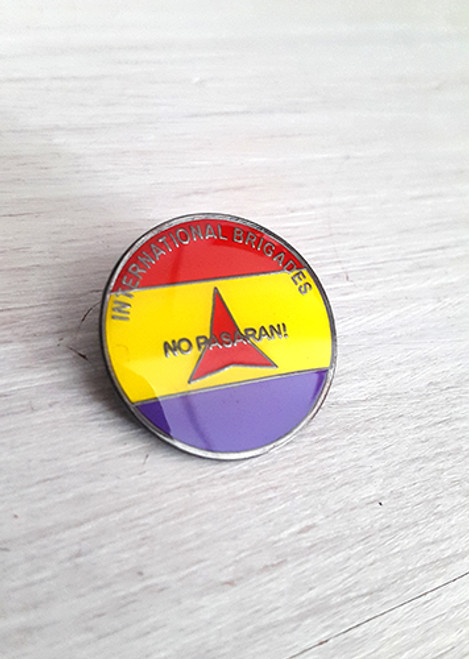 No Pasaran-International Brigade badge