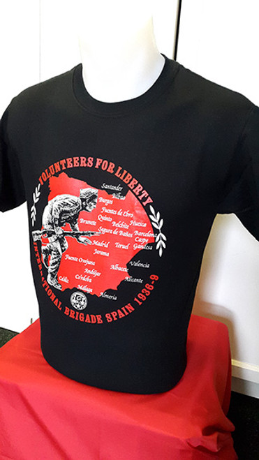 VOLUNTEERS FOR LIBERTY INTERNATIONAL BRIGADE T-SHIRT