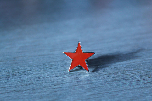 Red Star - Socialist (Five Point) Badge